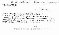 Československá divadla 1969-1971