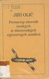 Pomocný slovník českých a slovenských výtvarných umělců
