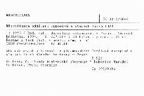 Miscellanea oddělení rukopisů a starých tisků 10/2