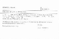 Poklady skryté v účetnictví                         (Díl 1)
