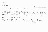 Hrobka pro Borise Davidoviče; Encyklopedie mrtvých