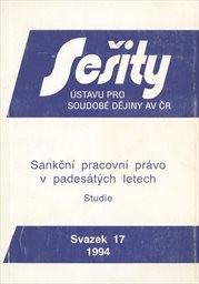 Sankční pracovní právo v padesátých letech