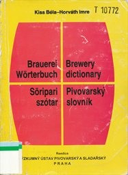 Německo-anglicko-maďarsko-český pivovarský slovník