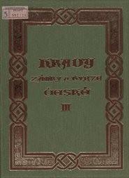 Hrady, zámky a tvrze Království českého                         (Díl 3,)