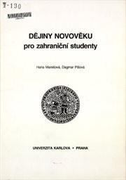 Dějiny novověku pro zahraniční studenty
