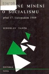 Veřejné mínění o socialismu před 17.listopadem 1989