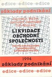 d87aa0c8b7313 ... Báča, Jaromír: Likvidace obchodní společnosti