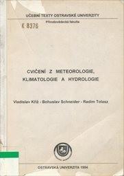 Cvičení z meteorologie, klimatologie a hydrologie