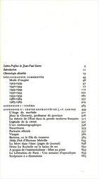 Les Écrits de Sartre