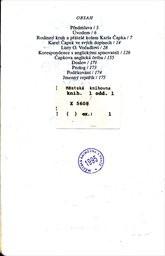 Anglické listy Karla Čapka