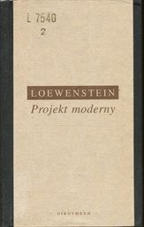 Projekt moderny
