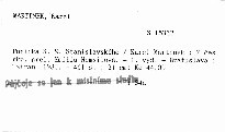 Poetika K. S. Stanislavského