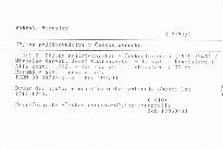 Dějiny pojišťovnictví v Československu                         (Díl 2)