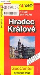 Hradec Králové - plán města