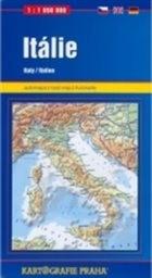 Itálie, automapa