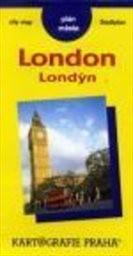Londýn - plán města