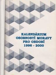 Kalendárium osobností Moravy pro období 1996-2000