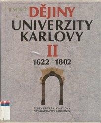 Dějiny Univerzity Karlovy                         (2)