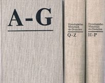Etymologisches Wörterbuch des Deutschen                         (Díl 1)
