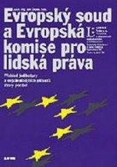 Evropský soud a Evropská komise pro lidská práva
