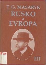Rusko a Evropa                         ([Sv.] 3)