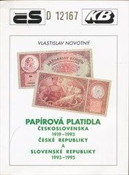 Papírová platidla Československa 1919-1993, České republiky a Slovenské republiky 1993-1995