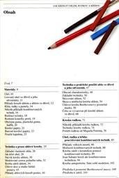 Jak kreslit uhlem, rudkou a křídou