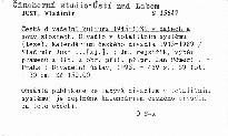 Česká divadelní kultura 1945-1989 v datech a souvislostech