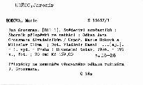 Jan Grossman                         (Díl 1)