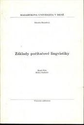 Základy počítačové lingvistiky