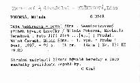 Dáša Veškrnová - první dáma