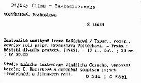 Zasloužilá umělkyně Irena Kačírková