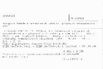 Evropská dohoda o mezinárodní silniční přepravě nebezpečných věcí                         (Díl 3)