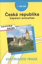 Česká republika - kapesní autoatlas