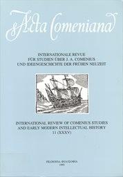 Acta Comeniana                         ([Bd.] 11)