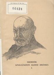 Sborník Společnosti Aloise Jiráska                         (Sv. 1)