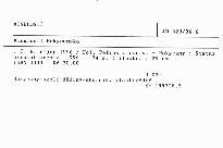 Minulostí Rokycanska                         (Č. 6, říjen 1996)