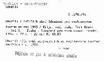 Sborník z tvůrčích akcí Sdružení pro rozhlasovou tvorbu za rok 1995