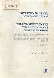 Univerzity na prahu nového tisíciletí                         (Sv. 1)