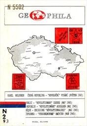 """Česká republika - """"revoluční"""" vydání (květen 1945)"""