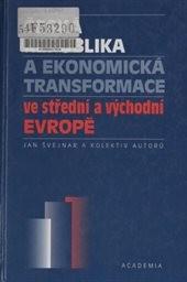 Česká republika a ekonomická transformace ve střední a východní Evropě