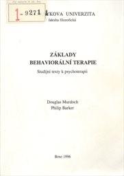 Základy behaviorální terapie