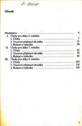 5 až 9 - sbírka úloh z matematiky