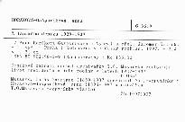 Z lánského deníku 1929-1937