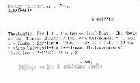 Theatralia                         (Sv. 10)