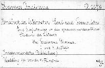 Handbuch der Lateinischen Laut-und Formenlehr