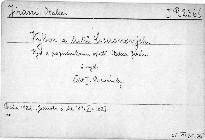 Výbor z listů Ciceronových.