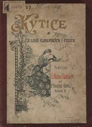 Kytice z luhů slovanských a cizích