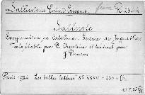 Conjuration de Catilina.
