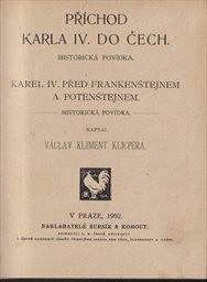 Příchod Karla IV. do Čech